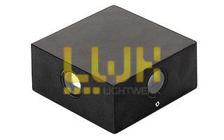 Светильник LGD-Wall-Quad-76B-8W Warm White