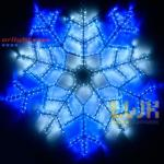 Фигура ARD-SNOWFLAKE-M6-890x890-576LED White/Blue (230V, 20W)