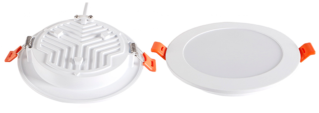 Светильники серии DL-BL очень просты в установке